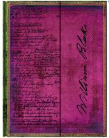 "Записная книжка Paperblanks ""Блейк. Поэмы"" в линейку (формат: 180*230 мм, ультра)"
