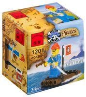 """Конструктор """"Pirates. Пират на плоту"""" (34 детали)"""