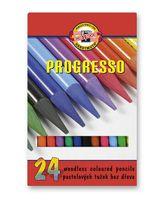 """Набор карандашей цветных """"Progresso"""" (24 цвета; в лаке без дерева)"""