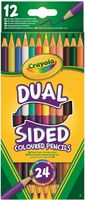 """Набор карандашей цветных """"Dual Sided"""" (12 шт.; 24 цвета)"""