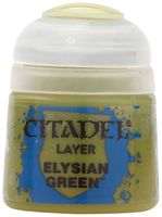 """Краска акриловая """"Citadel Layer"""" (elysian green; 12 мл)"""