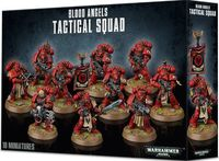 Warhammer 40.000. Blood Angels. Tactical Squad (41-12)