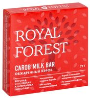 "Шоколад из кэроба ""Royal Forest. Обжаренный"" (75 г)"