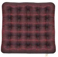 "Подушка на стул ""Ecology"" (40х40 см; тёмно-красная)"