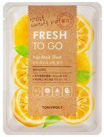 """Тканевая маска для лица """"Fresh To Go Yuja Mask Sheet"""" (25 г)"""