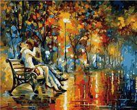 """Картина по номерам """"Страстный вечер"""" (400х500 мм)"""