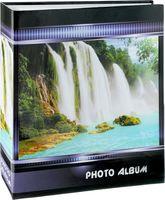 """Фотоальбом """"Waterfalls"""" (500 фотографий; 10х15 см; синий)"""