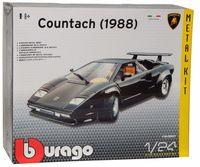 "Модель машины ""Bburago. Kit. Lamborghini Countach 1998"" (масштаб: 1/24)"
