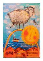 """Магнит на холодильник """"Морской барашек"""" (арт. 11.19)"""