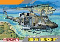 """Вертолет """"UH-1N Gunship"""" (масштаб: 1/35)"""