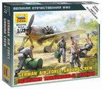 """Набор миниатюр """"Немецкие авиационные техники"""" (масштаб: 1/72)"""