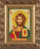 """Вышивка бисером """"Христос Спаситель"""""""