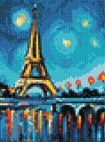 """Алмазная вышивка-мозаика """"Парижский пейзаж"""" (150х200 мм)"""