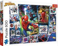 """Пазл """"Человек-паук. Плакаты с супергероем"""" (500 элементов)"""
