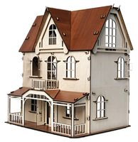 """Сборная деревянная модель """"Кукольный дом. Венеция"""""""