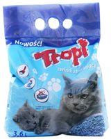 """Наполнитель для кошачьего туалета """"Tropi"""" (3,6 л)"""