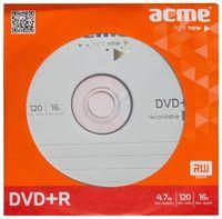Диск DVD+R 4,7 Гб 16х Acme (бумажный конверт)