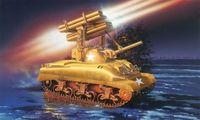 """Танк """"M4A1 Sherman Calliope"""" (масштаб: 1/72)"""