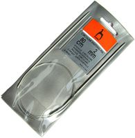 Спицы круговые для вязания (алюминий; 2 мм; 80 см)