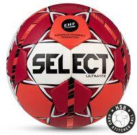 """Мяч гандбольный Select """"Ultimate IHF"""" №3 (красный/оранжевый/белый/черный)"""