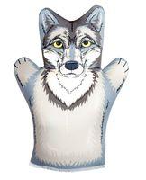 """Мягкая игрушка на руку """"Волк"""" (32 см)"""