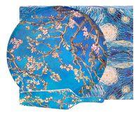"""Набор посуды для торта """"Ван Гог. Цветущий миндаль"""" (2 предмета)"""