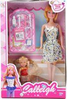 "Набор кукол ""Calleigh. Медсестра с девочкой"""