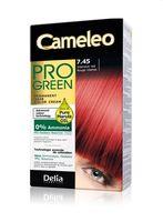 """Краска для волос """"Cameleo Pro Green"""" (тон: 7.45, интенсивный красный)"""