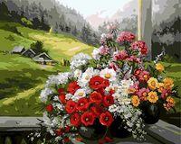 "Картина по номерам ""Альпийский пейзаж"" (500х650 мм)"