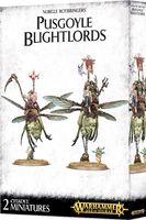 Warhammer Age of Sigmar. Maggotkin of Nurgle. Pusgoyle Blightlords (83-48)