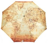"Зонт ""Карта"" (жёлтый; арт. RB 58 FS)"