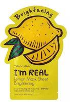"""Тканевая маска для лица """"I'm Real. Lemon"""" (21 мл)"""