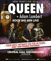 Queen & Adam Lambert. Rock Big Ben Live (Blu-Ray)