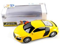 Автомобиль инерционный (со звуковыми и световыми эффектами; арт. 3700-9D)