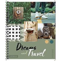 """Тетрадь общая в клетку """"Dreams and Travel"""" (96 листов)"""