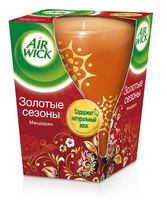 """Ароматизированная свеча Air Wick """"Золотые сезоны. Мандарин"""" (155 г)"""