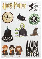 "Набор виниловых наклеек №595 ""Гарри Поттер"""