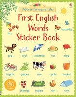 First English Words. Sticker Book