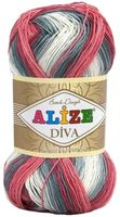 ALIZE. Diva Batik Design №5740 (100 г; 350 м)