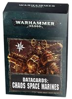 Warhammer 40.000. Datacards: Chaos Space Marines (43-02-60)