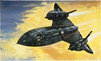 """Сверхзвуковой разведчик """"SR-71 Blackbird"""" (масштаб: 1/72)"""