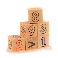 """Кубики """"Цифры-счет"""" (6 шт)"""