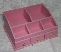 """Комод для косметики """"Розовый"""" (арт. МВ01041.21)"""