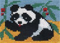 "Вышивка крестом ""Панда"" (90х70 мм)"