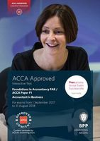 FIA Foundations of Accountant in Business FAB (ACCA F1). Interactive Text