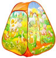 """Детская игровая палатка """"Весёлая ферма"""""""