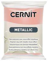 """Глина полимерная """"CERNIT Metallic"""" (розовое золото; 56 г)"""