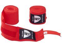 Бинт боксёрский BP-6232d (4,5 м; красный)