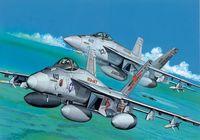 """Набор самолетов """"F/A-18E"""" (масштаб: 1/144)"""