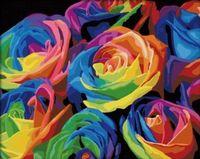 "Картина по номерам ""Розы"" (400x500 мм; арт. MG001)"
